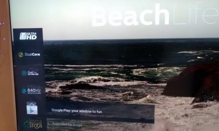 Google Play en una Android TV
