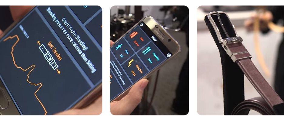 Samsung crea un cinturón inteligente