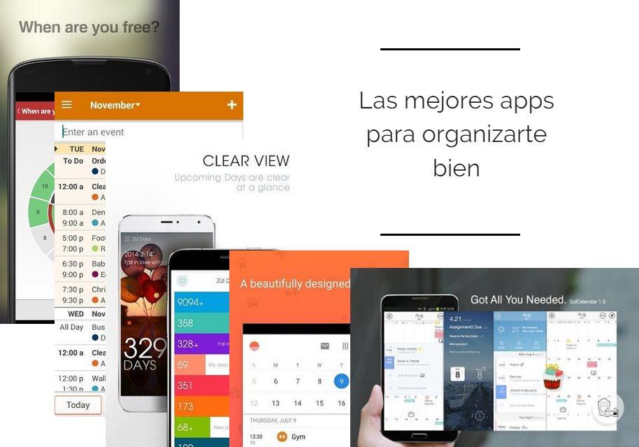 Las mejores apps para organizarte bien