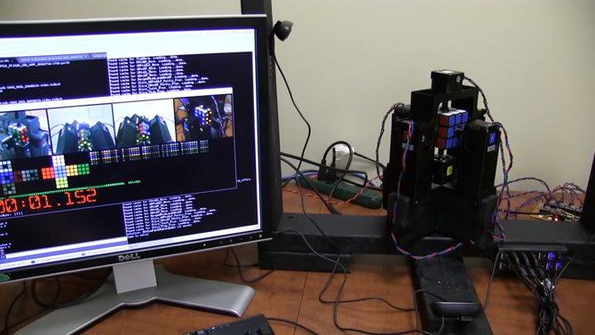 cubo rubik robot