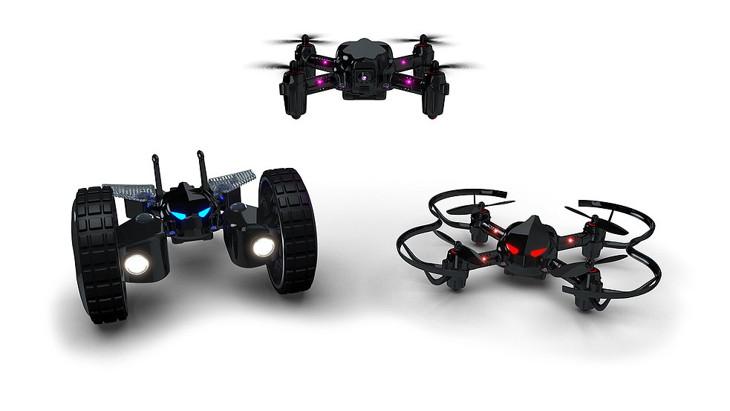 drones de combate byrobot