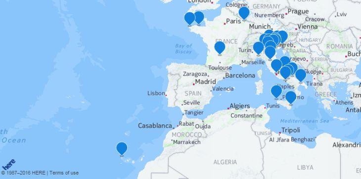 Imagen: Anuncio de Here Maps