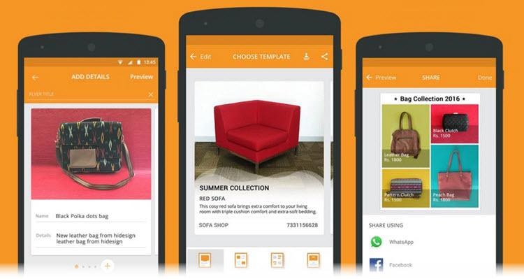 Microsoft lanza una app que permite crear catálogos y folletos desde Android
