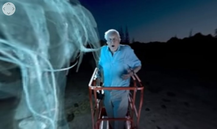 Dinosaurio gigante en Realidad Virtual