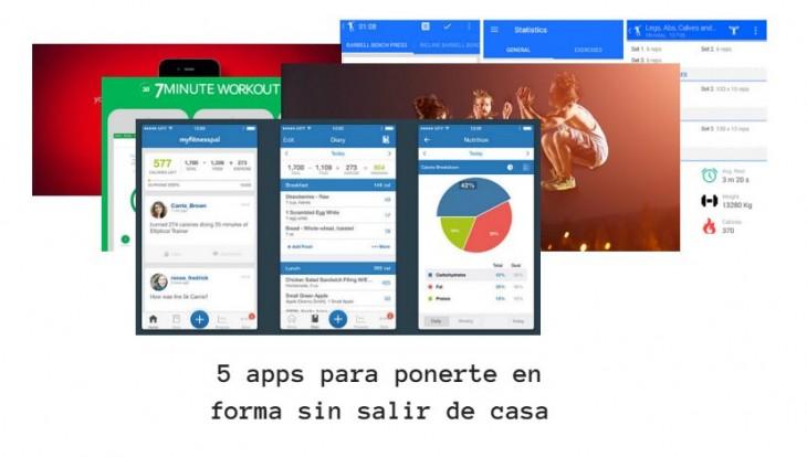 5 apps para ponerte en forma sin salir de casa - Ponerse en forma en casa ...