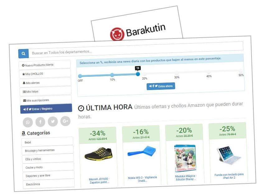 Barakutin, para ahorrar en Amazon España, presenta nueva versión