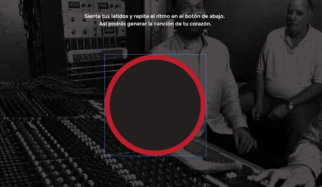 Una web que crea música al ritmo de tu propio corazón