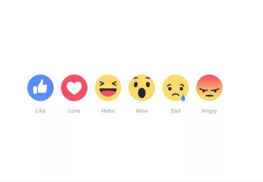 emociones de Facebook