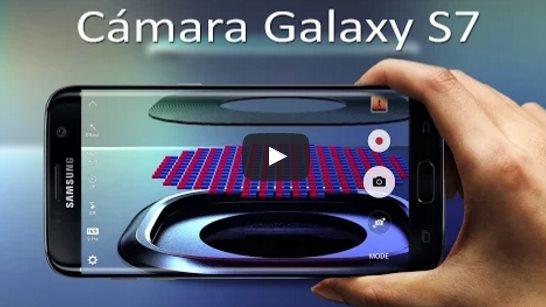 Así es la cámara del Galaxy S7