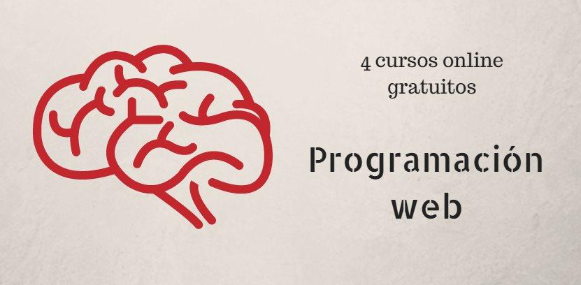 4 cursos gratuitos online de programación web
