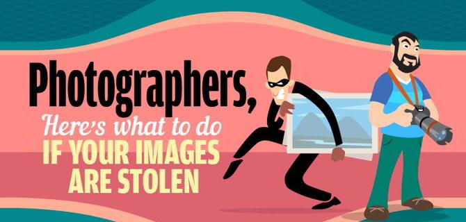 ¿Qué hago si roban mis fotos online o las copian ilegalmente? [Infografía]