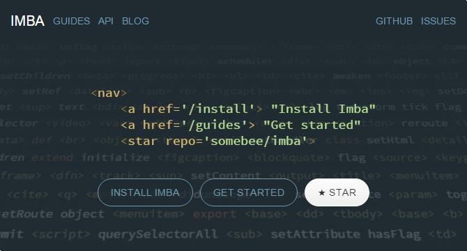 Imba: Lenguaje De Programacion Para Aplicaciones Web
