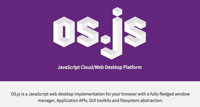 OS.js: Sistema Operativo Basado En La Web