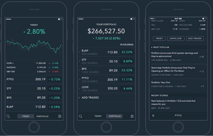 portfolio stocks
