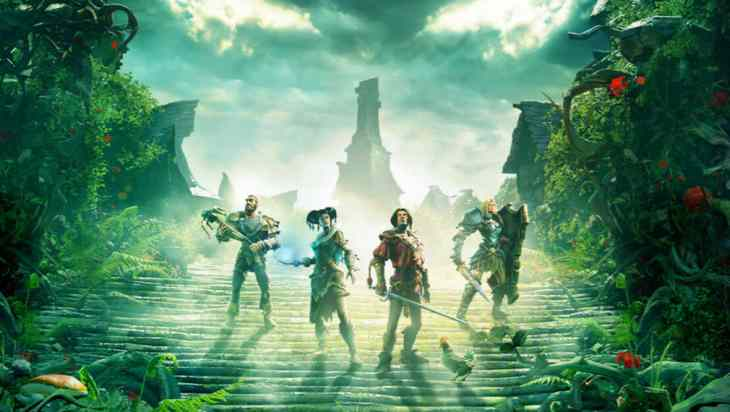 Imagen: Portada web del juego Fable Legends