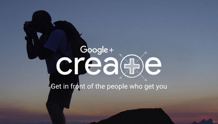 Google+ Create