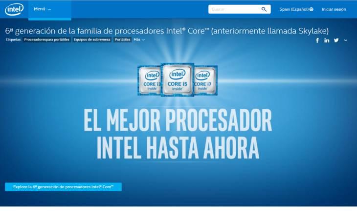 Imagen: sitio web de Intel
