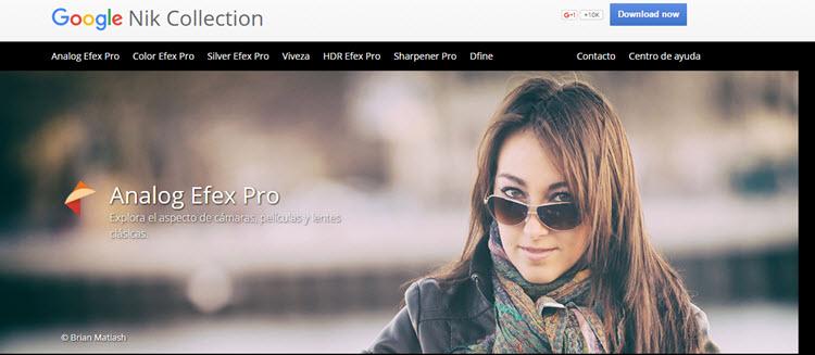 La suite de plugins de edición fotográfica de Nik Collection ahora es gratuita