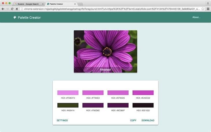 3 herramientas gratuitas para obtener la paleta de colores de una imagen