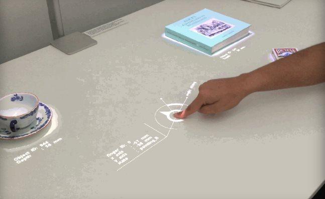 Un proyector de Sony podría transformar cualquier superficie en tableta