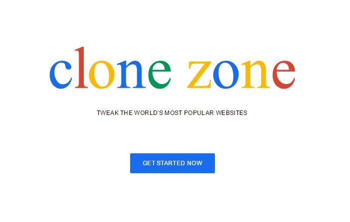 CloneZone, para clonar sitios de noticias y hacer la broma del año