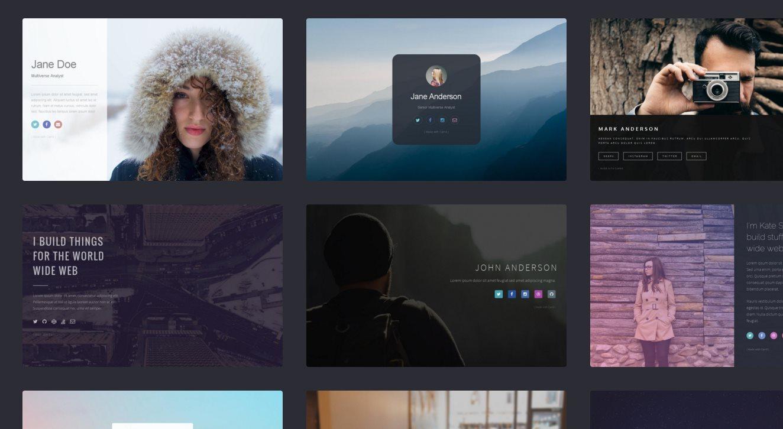 carrd, excelente forma de crear una página web elegante y profesional en pocos minutos
