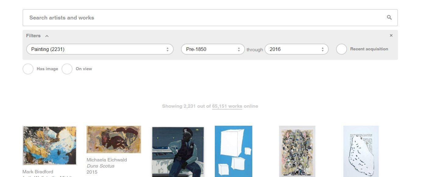 El MoMA publica 65.000 obras de arte moderno en Internet