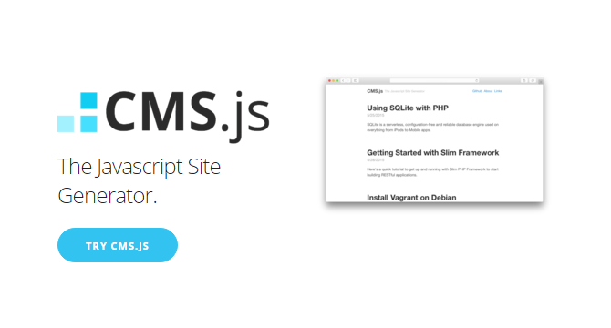CMS.js: Generador De Sitios CMS Con JavaScript
