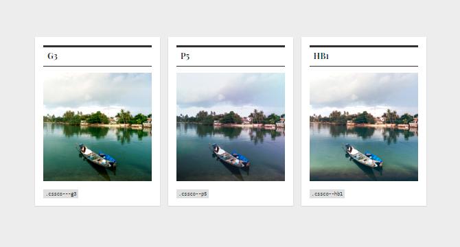 CSSCO: Asombrosos Filtros CSS Para Imagenes