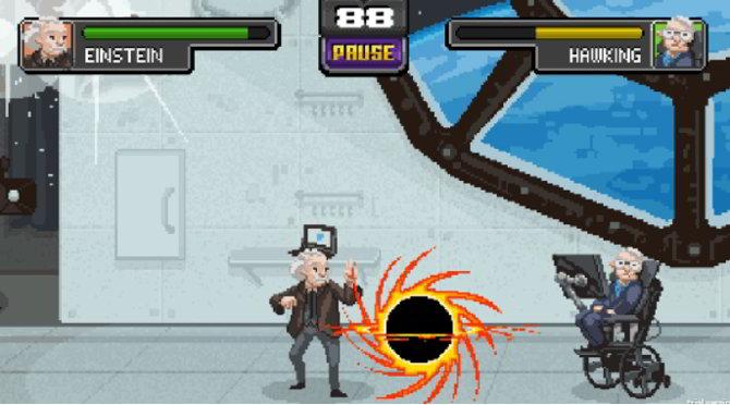 Un Mortal Kombat Online con Einstein, Newton y otras figuras de la Ciencia