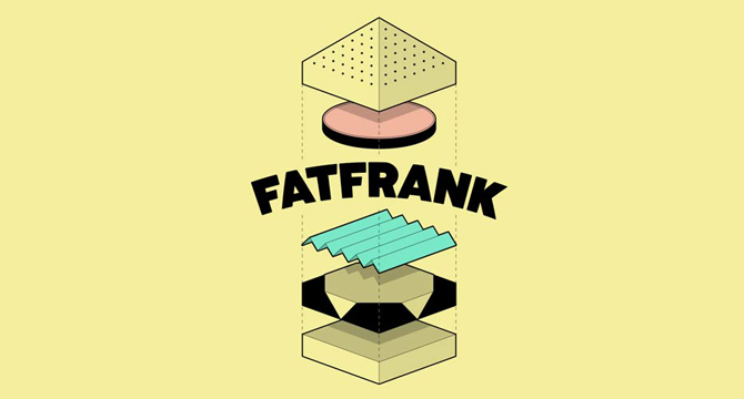 FatFrank: Fuente Gruesa En Mayusculas