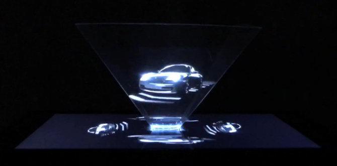 holograma porsche 911