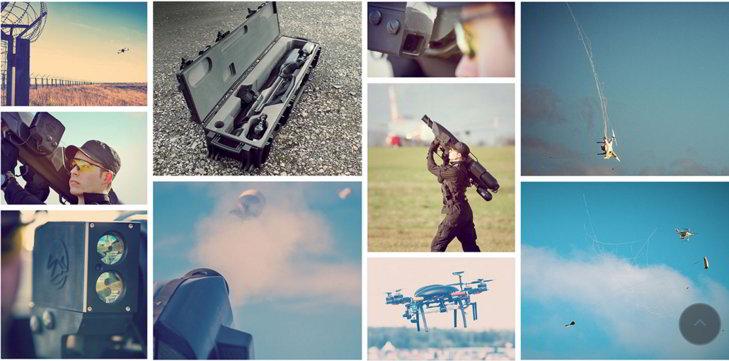 SmartWall100, una bazuca antidrones