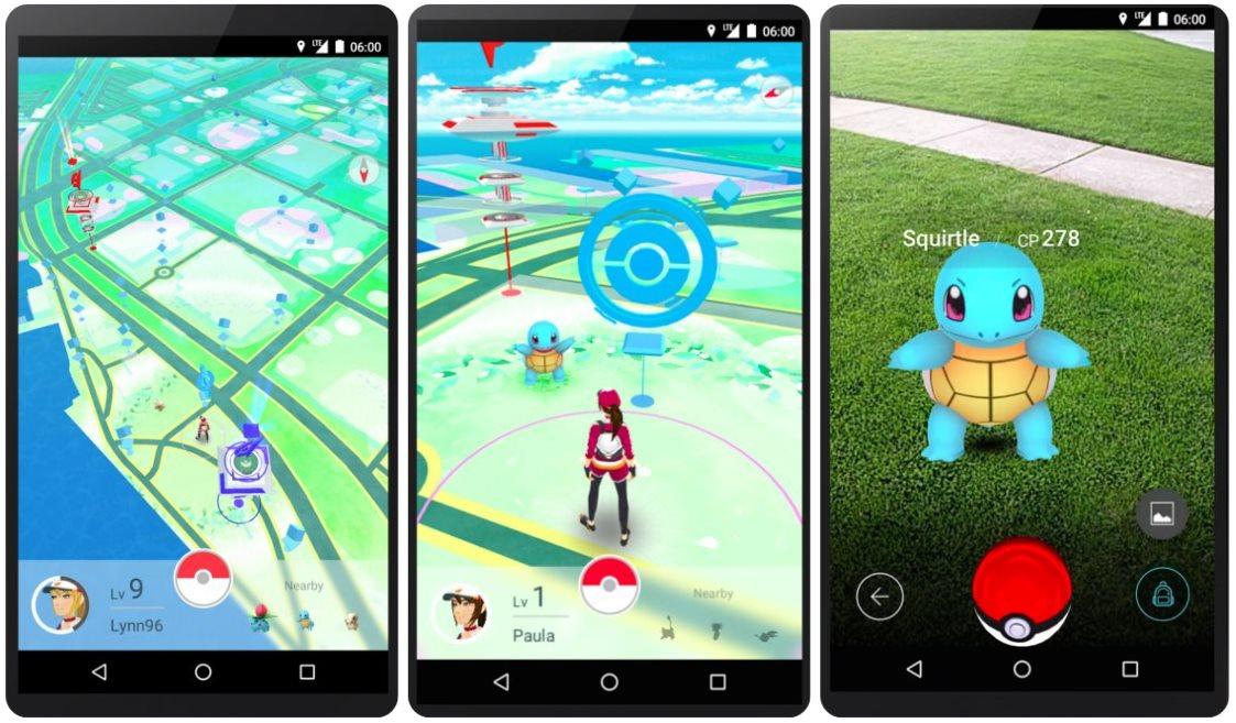 Así es Pokémon GO, el juego de Realidad aumentada de Niantic Labs (de Google)