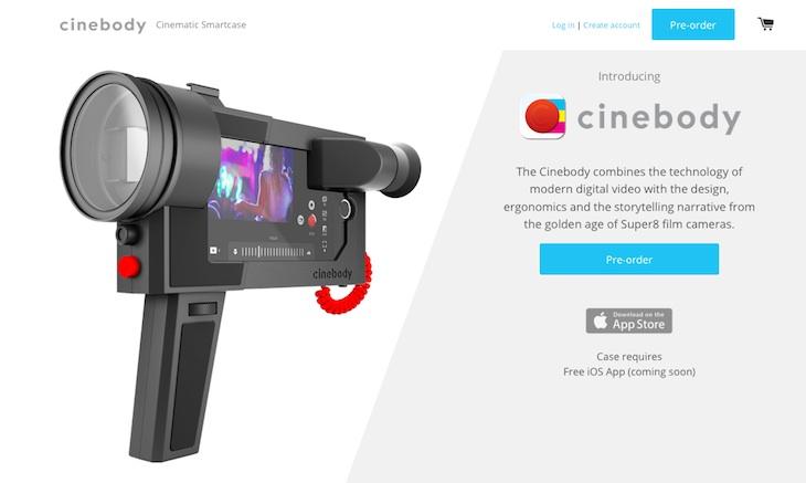 Cinebody, para convertir tu iPhone en una cámara de 8mm