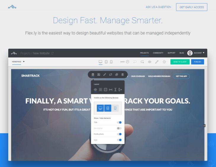 Flex.ly, nueva plataforma de creación y gestión de sitios web de manera sencilla