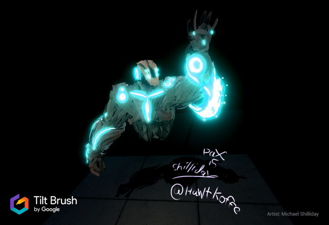 Tilt Brush Google