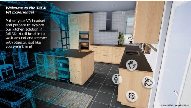 Ikea presenta app de realidad virtual para dise ar cocinas for Aplicacion para disenar cocinas