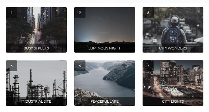 Filterzr: Aplicación De Filtros a Galerías CSS