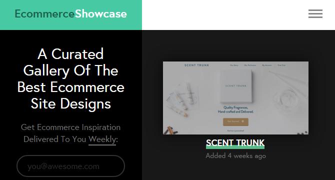 Galería De Diseños De Sitios eCommerce