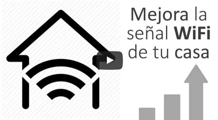 Para mejorar la WiFi de nuestra casa