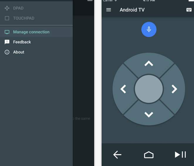 android TV para iPhone
