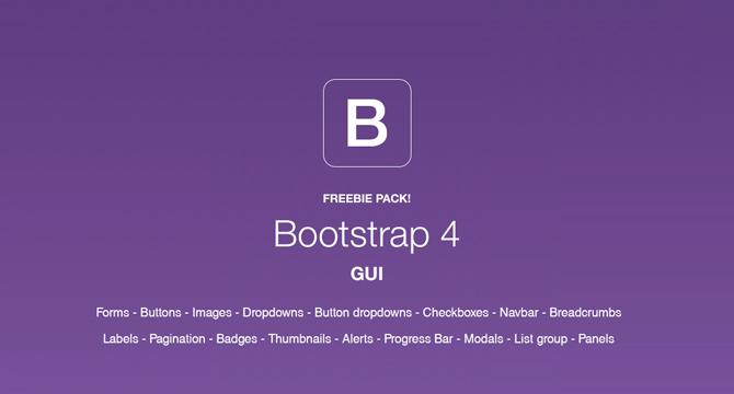 Paquete De Interfaz Grafica De Bootstrap 4