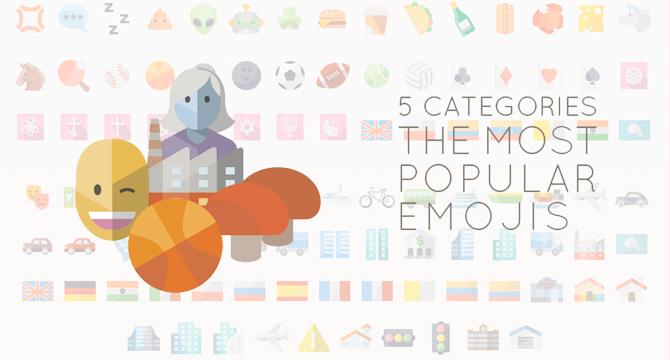 Set De Emojis En Estilo Flat