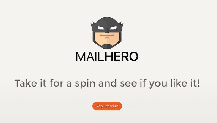 Mailhero, para reenviar solamente los correos que nos interesen a nuestra dirección de email real