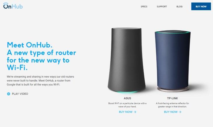 Imagen: Routers OhHub, cuyo diseño podría tener el nuevo dispositivo