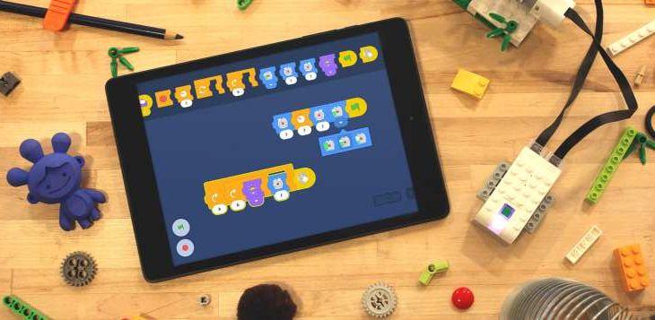 Imagen: prototipo de implementación de controles con Scratch Blocks