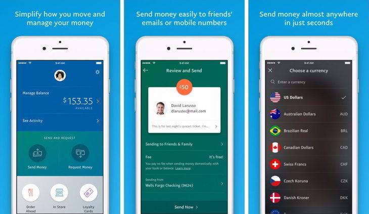 app iOS paypal