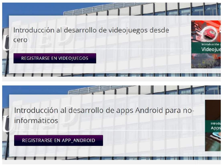 Dos MOOCs gratuitos en español para programar juegos y apps android