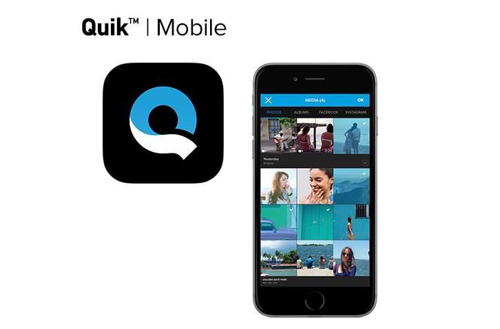 GoPro presenta apps móviles para edición de vídeo